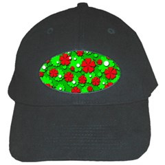 Xmas flowers Black Cap