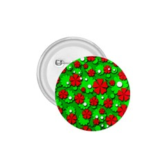 Xmas flowers 1.75  Buttons