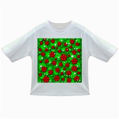 Xmas flowers Infant/Toddler T-Shirts