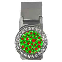 Xmas flowers Money Clips (CZ)