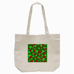Xmas flowers Tote Bag (Cream)