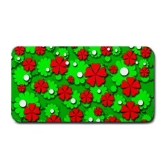 Xmas flowers Medium Bar Mats