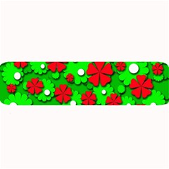 Xmas flowers Large Bar Mats