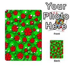 Xmas flowers Multi-purpose Cards (Rectangle)