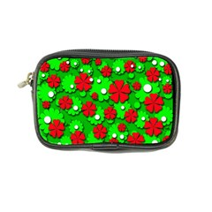 Xmas flowers Coin Purse