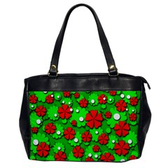 Xmas flowers Office Handbags
