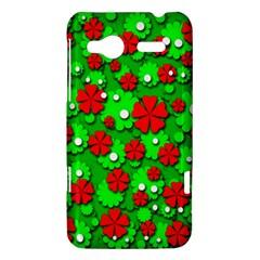 Xmas flowers HTC Radar Hardshell Case