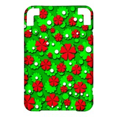 Xmas flowers Kindle 3 Keyboard 3G