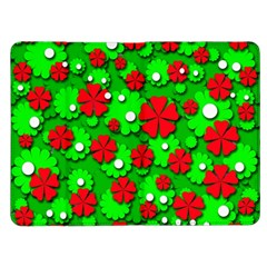 Xmas flowers Kindle Fire (1st Gen) Flip Case