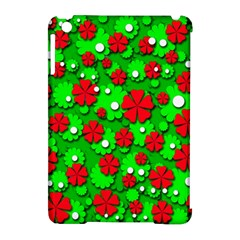 Xmas flowers Apple iPad Mini Hardshell Case (Compatible with Smart Cover)