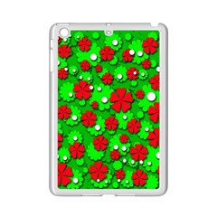 Xmas flowers iPad Mini 2 Enamel Coated Cases