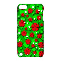 Xmas flowers Apple iPod Touch 5 Hardshell Case with Stand