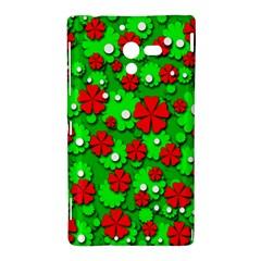 Xmas flowers Sony Xperia ZL (L35H)