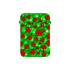 Xmas flowers Apple iPad Mini Protective Soft Cases