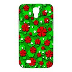 Xmas flowers Samsung Galaxy Mega 6.3  I9200 Hardshell Case