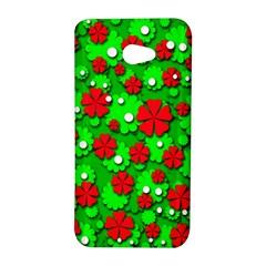 Xmas flowers HTC Butterfly S/HTC 9060 Hardshell Case