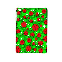 Xmas flowers iPad Mini 2 Hardshell Cases