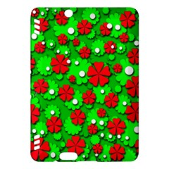 Xmas flowers Kindle Fire HDX Hardshell Case