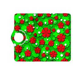 Xmas flowers Kindle Fire HDX 8.9  Flip 360 Case