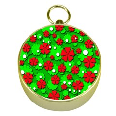 Xmas flowers Gold Compasses