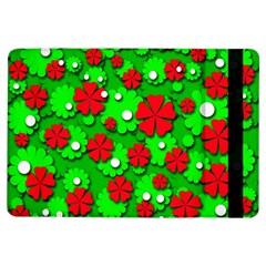 Xmas flowers iPad Air Flip