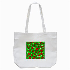 Xmas flowers Tote Bag (White)