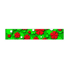 Xmas flowers Flano Scarf (Mini)