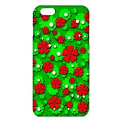 Xmas flowers iPhone 6 Plus/6S Plus TPU Case