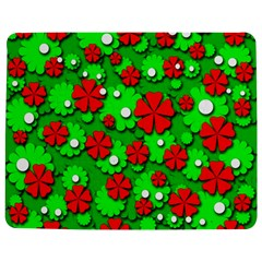Xmas flowers Jigsaw Puzzle Photo Stand (Rectangular)