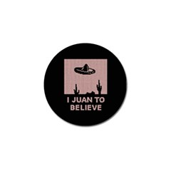 I Juan To Believe Ugly Holiday Christmas Black Background Golf Ball Marker (10 pack)