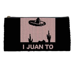 I Juan To Believe Ugly Holiday Christmas Black Background Pencil Cases