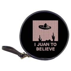 I Juan To Believe Ugly Holiday Christmas Black Background Classic 20-CD Wallets