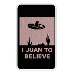 I Juan To Believe Ugly Holiday Christmas Black Background Memory Card Reader