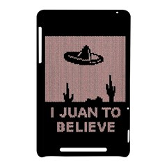 I Juan To Believe Ugly Holiday Christmas Black Background Nexus 7 (2012)