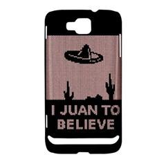 I Juan To Believe Ugly Holiday Christmas Black Background Samsung Ativ S i8750 Hardshell Case