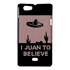 I Juan To Believe Ugly Holiday Christmas Black Background Sony Xperia Miro