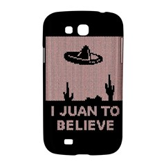 I Juan To Believe Ugly Holiday Christmas Black Background Samsung Galaxy Grand GT-I9128 Hardshell Case