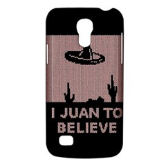 I Juan To Believe Ugly Holiday Christmas Black Background Galaxy S4 Mini