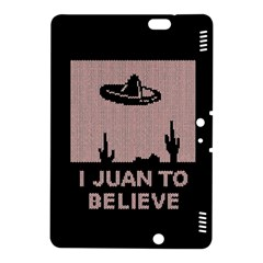 I Juan To Believe Ugly Holiday Christmas Black Background Kindle Fire HDX 8.9  Hardshell Case