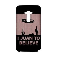 I Juan To Believe Ugly Holiday Christmas Black Background LG G Flex