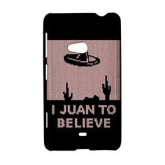 I Juan To Believe Ugly Holiday Christmas Black Background Nokia Lumia 625