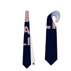 I Juan To Believe Ugly Holiday Christmas Blue Background Neckties (two Side)