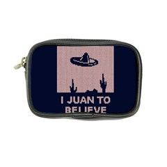 I Juan To Believe Ugly Holiday Christmas Blue Background Coin Purse