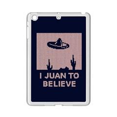 I Juan To Believe Ugly Holiday Christmas Blue Background Ipad Mini 2 Enamel Coated Cases