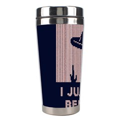 I Juan To Believe Ugly Holiday Christmas Blue Background Stainless Steel Travel Tumblers