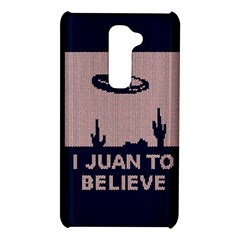 I Juan To Believe Ugly Holiday Christmas Blue Background LG G2