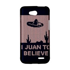I Juan To Believe Ugly Holiday Christmas Blue Background LG L90 D410