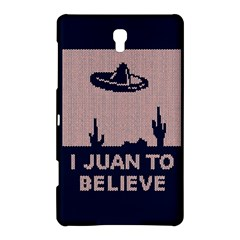 I Juan To Believe Ugly Holiday Christmas Blue Background Samsung Galaxy Tab S (8.4 ) Hardshell Case