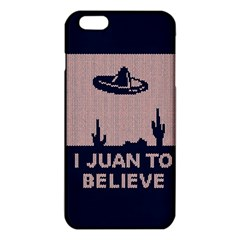 I Juan To Believe Ugly Holiday Christmas Blue Background iPhone 6 Plus/6S Plus TPU Case