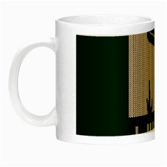 I Juan To Believe Ugly Holiday Christmas Green background Night Luminous Mugs
